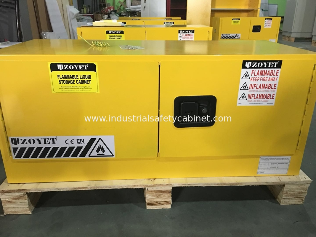 Horizontal Flammable Industrial Safety Cabinets Piggyback