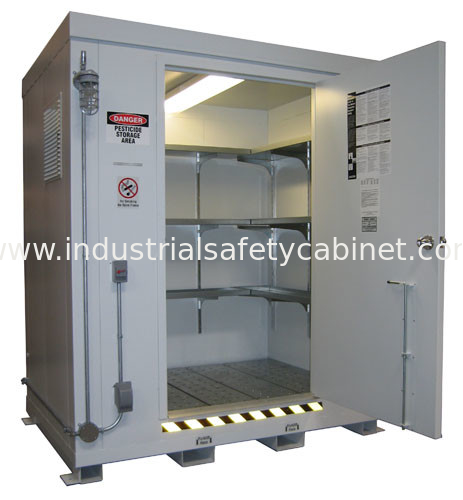 Chemical Safety Storage Cabinets , Hazmat Storage Containers For Hazardous  Material