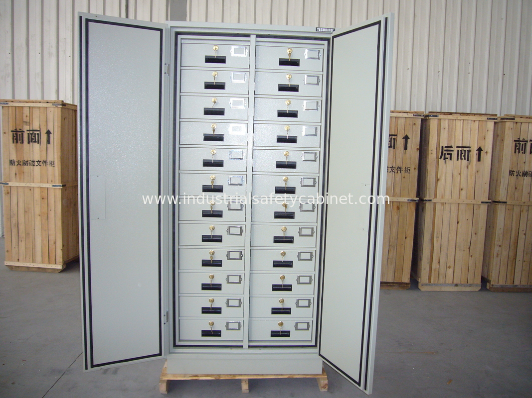 Shockproof Antimagnetic Safety Storage Cabinets Customized For Disc Protection