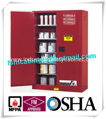 vertical combustible paint storage cabinets with adjustable horizontal shelves - Paint Storage Cabinets