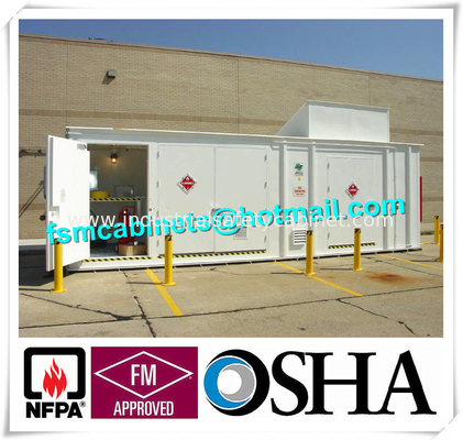 Chemical Storage Buildings , Hazardous Material Storage Building For  Corrosive Liquid