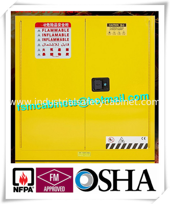 Industrial Safety Storage Chemical Storage Cabinets For Flammable Liquid