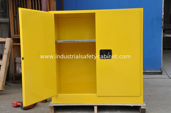 China Flammable Chemical Storage Cabinets / Fireproof Storage Cabinets For Chemical factory
