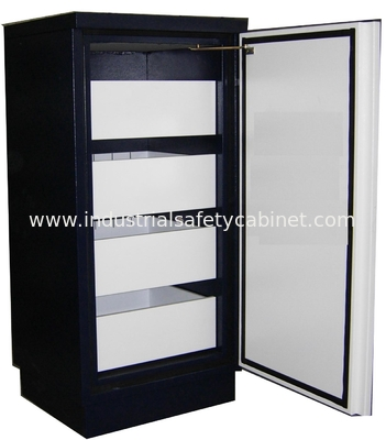 Steel Security Fire Resistant Cabinets Magnetic Proof For Storing Audio Tape / Video Tape