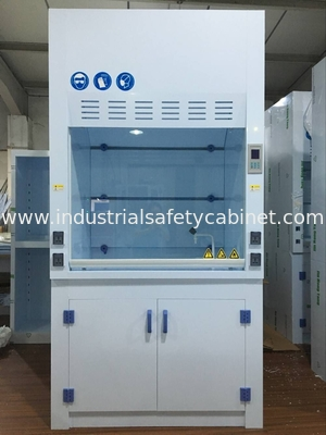 Biology Lab Equipment Ductless PP Fume Hood For One Person , Corrosion Resistance