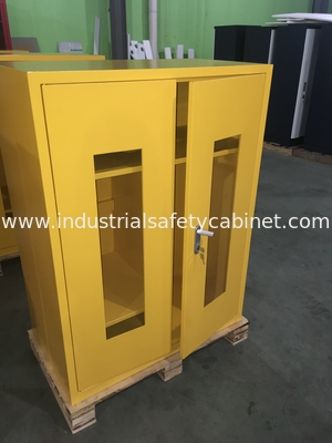Flammable Goods Storage Cabinets With Earthing Socket For Combustible Liquid / Paint PPE equipment cabinet