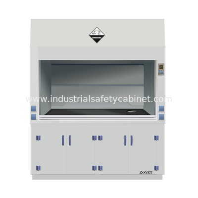 ZOYET Polypropylene Storage Cabinets For Smoke Gases Dust Extraction