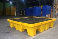Oil Tank Storage HDPE Spill Containment Pallets For 220L 4 Drums Stoarge
